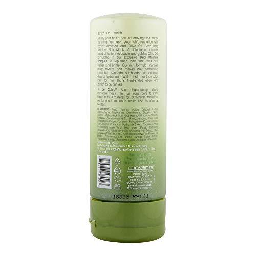 Giovanni 2chic Avocado and Olive Oil Ultra-Moist Deep Moisture Hair Mask