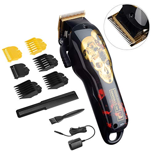 Cordless Hair Trimmer Professional Hair Clippers Beard Trimmer for Men