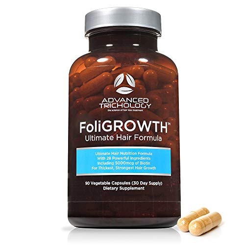 FoliGROWTH Ultimate Hair Nutraceutical - Get Thicker Hair