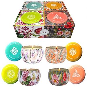 Big Aromatherapy Scented Candles Essential Oils Natural