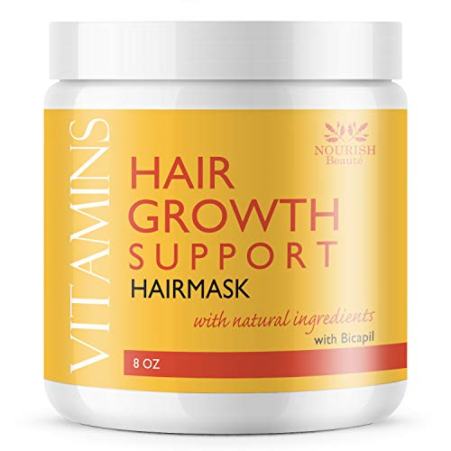 Nourish Beaute Vitamins Hair Mask for Deep Conditioning and Hydration
