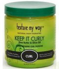 Texture My Way Keep It Curly Ultra Defining Curl Pudding