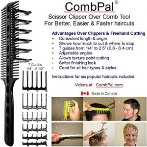 CombPal Scissor Clipper Over Comb Hair Cutting Tool Barber