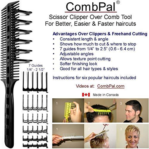 CombPal Scissor Clipper Over Comb Hair Cutting Tool Barber