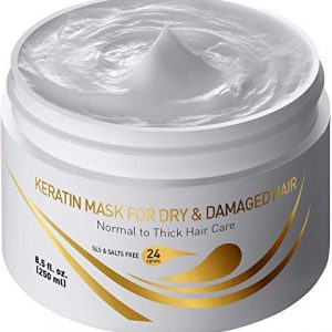 Vitamins Hair Mask Repair Treatment - Thick Coarse Dry and Damaged Hair