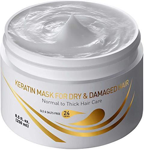 Vitamins Hair Mask Repair Treatment - Thick Coarse Dry and Damaged Hair