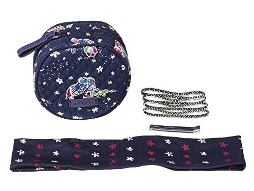 Vera Bradley Women's Hair Accessories Kit Holiday Owls