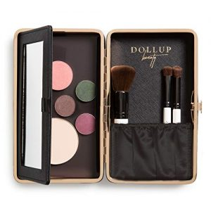 Dollup Case Makeup Organizer - Features Empty Magnetic Palette