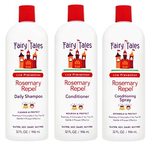 Fairy Tales Rosemary Repel Daily Kid Shampoo, Cream Conditioner