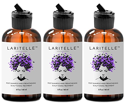 Laritelle Organic Post-Shampoo Hair Strengthening & Scalp Toning Treatment