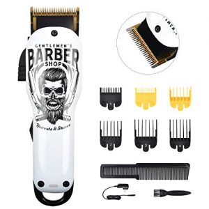 Updated Version Professional Hair Clippers Cordless Haircut Kit USB Rechargeable