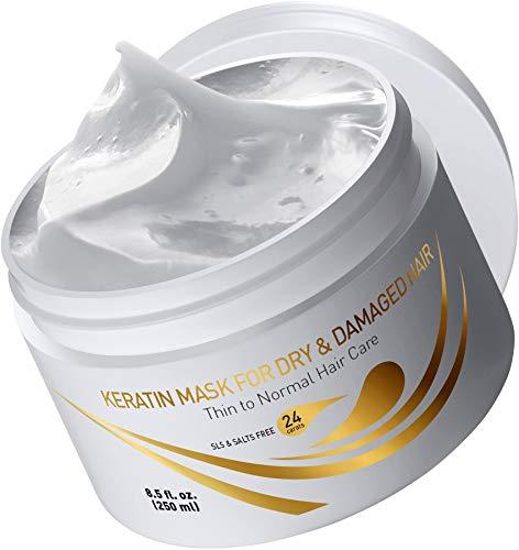 Vitamins Keratin Hair Mask Deep Conditioner - Thin Fine Hair Keratin
