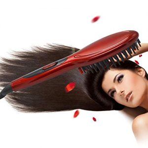 Asatr 1 Pcs Hair Care Fast Hair Straightener Electric Hair Comb Hair Perms