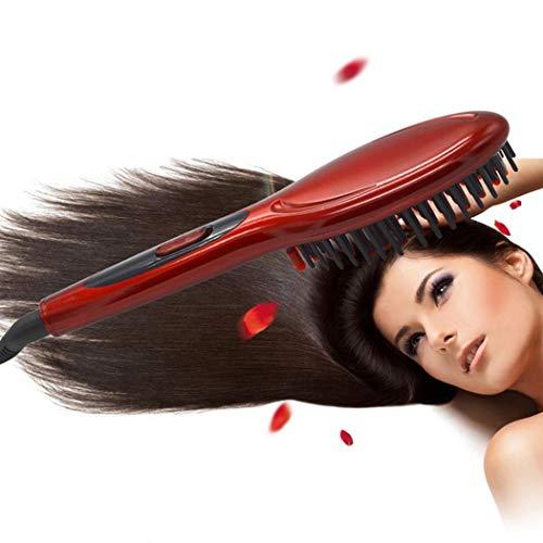 Asatr 1 Pcs Hair Care Fast Hair Straightener Electric Hair Comb Hair Perms