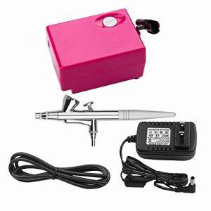 Airbrush Makeup Set Pinkiou Air Brush Kit for Face Paint