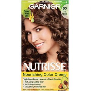 Garnier Nutrisse Nourishing Color Creme Light Natural Brown