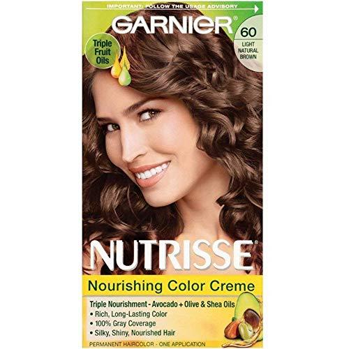 Garnier Nutrisse Nourishing Color Creme Light Natural Brown