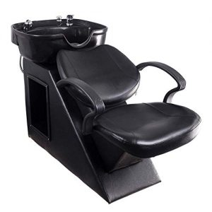 Polar Aurora New Backwash Barber Chair Shampoo Bowl Sink Unit Station