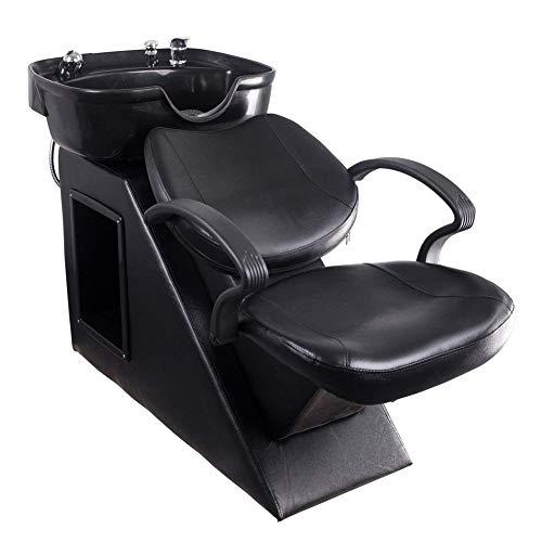 Polar Aurora New Backwash Barber Chair Shampoo Bowl Sink Unit Station