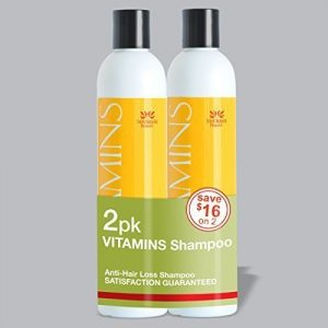 Nourish Beaute Vitamins Shampoo for Hair Loss that Promotes Hair Regrowth