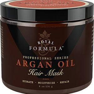 Argan Oil Hair Mask, 100% ORGANIC Argan & Almond Oils
