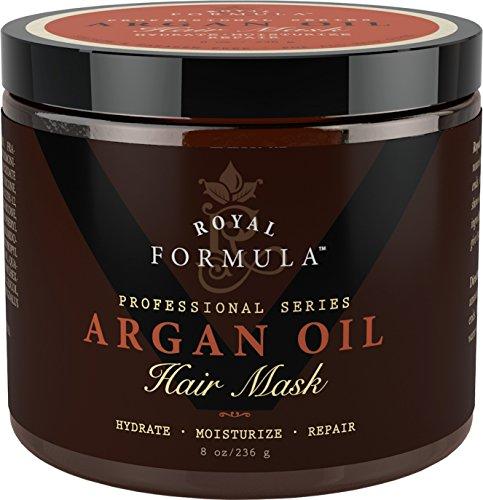 Argan Oil Hair Mask, 100% ORGANIC Argan & Almond Oils