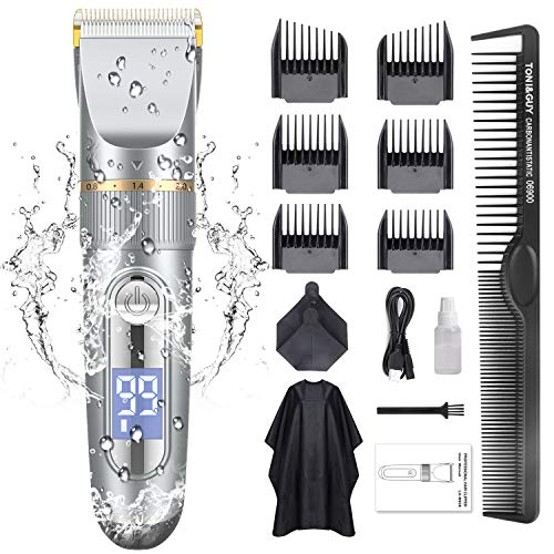 GOOLEEN Hair Clippers for Men Cordless Hair Clippers