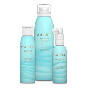 Volaire - Full size- Volumizing Hair System - Shampoo, Conditioner