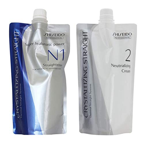Shiseido Crystallizing Straight For Natural to Sensitized hair