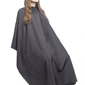 Hair Cutting Cape for Adults - Lightweight Water Resistant Salon Cape