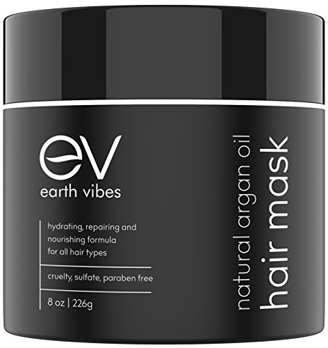 Earth Vibes Hydrating Argan Oil Hair Mask Conditioner - Deep Conditioning