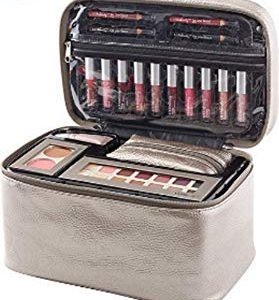 Ulta Beauty Brilliantly Beautiful Makeup Set Palette Travel Bag