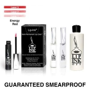 LIP INK Liquid Mini Lip Kit - Energy Red (Red) | Natural & Organic Makeup