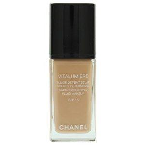 Chanel Vitalumiere Satin Smoothing Fluid Makeup SPF 15
