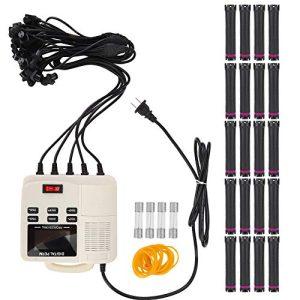 Hair Perm Machine,Small Portable Digital PTC Heating Hair Perm Machine