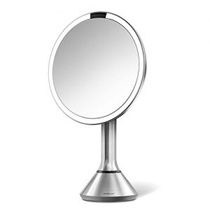 "simplehuman Sensor Lighted Makeup Vanity Mirror 8"" Round"