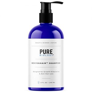 Premium Hair Growth Shampoo with Biotin, Keratin, Vitamins B + E