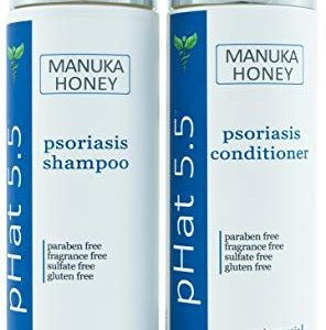 Psoriasis Shampoo and Conditioner Set for Dry and Itchy Scalp Treatment