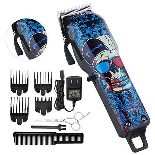 Professional Cordless Hair Clippers Beard Trimmer For Men Kids