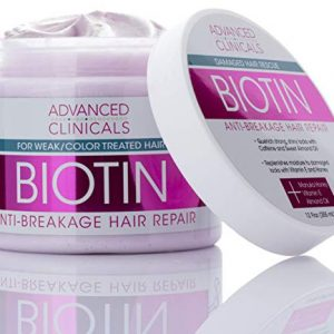 Advanced Clinicals Biotin Anti-Breakage Hair Repair Mask