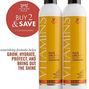 Nourish Beaute Vitamins Conditioner for Hair Loss that Promotes Hair Regrowth