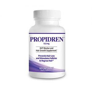 Propidren by HairGenics - DHT Blocker & Hair Growth Supplement