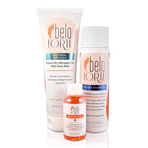 beloForte RefiSeal Treatment Healthier & Gorgeous Hair System