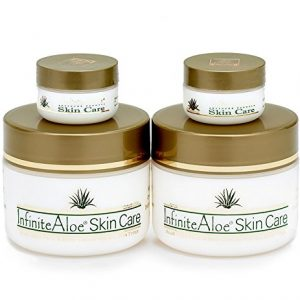 Infinite Aloe Skin Care Cream, Original Scent, 2-8oz Jars