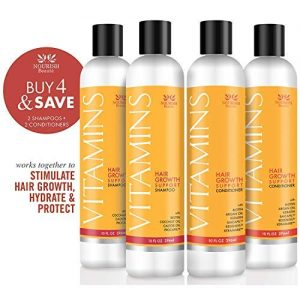 Nourish Beaute Vitamins Shampoo and Conditioner for Hair Loss