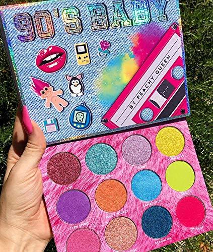 Peachy Queen Nostalgic 90's Baby Eyeshadow Palettes!