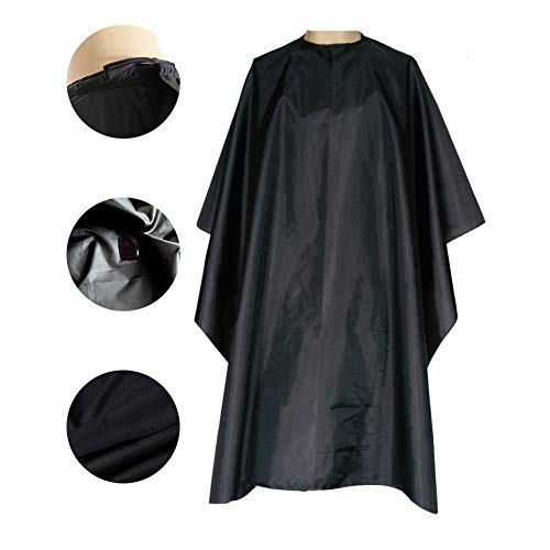Magiczone Nylon Waterproof Professional Salon Cape with Snap Closure