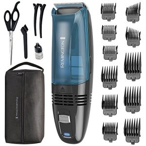 Remington Cordless Vacuum Haircut Kit, Vacuum Beard Trimmer