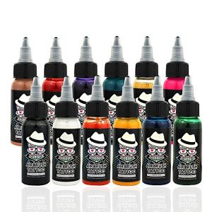 Ophir Airbrush Temporary Tattoo Ink Pigment Body Paint