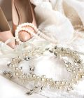 Pearl and Rhinestone Bridal Hair Accessories for Wedding, Engagement